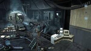 Franklin se réveille dans un laboratoire complètement déserté.