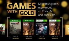 Les jeux Xbox Live Gold du mois d'octobre