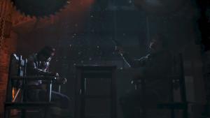 Une séquence qui n'est pas sans rappeler le film Saw.