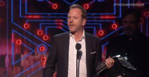 Kiefer Sutherland au Game Awards 2015