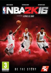 NBA 2K16 jacquette