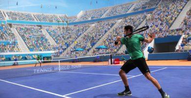 Tennis World Tour : Jeu, set et patch