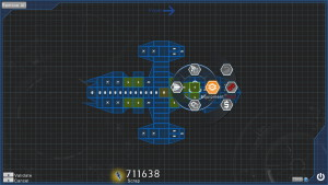 La construction du vaisseau constitue finalement l'élément central du jeu.
