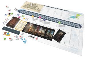 Posez les cartes dans l'ordre sur le plateau pour recréer le panorama de la salle.