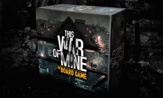 Un jeu de plateau This War of Mine sur les rails