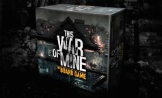 Un jeu de plateau This War of Mine sur les rails