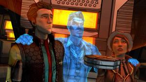 Directement tiré des autres jeux Borderlands, le beau Jack s'incruste dans l'histoire.