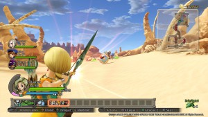 Chaque personnage dispose d'un gameplay particulier, Bianca est ainsi spécialisée dans le combat à distance.