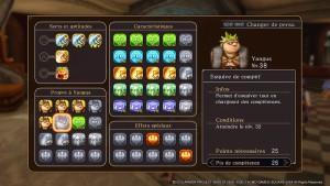 La fiche de personnage est basique mais elle contribue à donner une saveur RPG au titre.