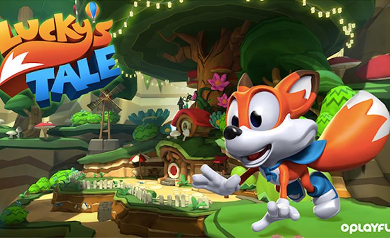 Le jeu de plates-formes Lucky's Tale offert avec l'Oculus Rift