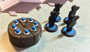 Le gâteau au centre de toutes les attentions.