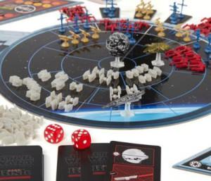 Une fois le bouclier désactivé, un 6 au dé suffit pour détruire l'Étoile noire.