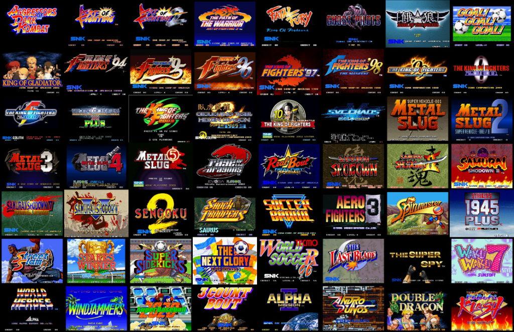 Dans les années 90 les jeux Neo-Geo constituaient une denrée rare, aujourd'hui on ne compte plus les compilations qui les regroupent.