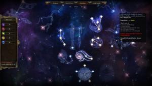 Ces constellations permettent de développer votre personnage.
