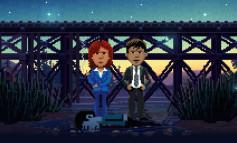 "Thimbleweed Park : Regarder ""trailer"" avec ""yeux"""