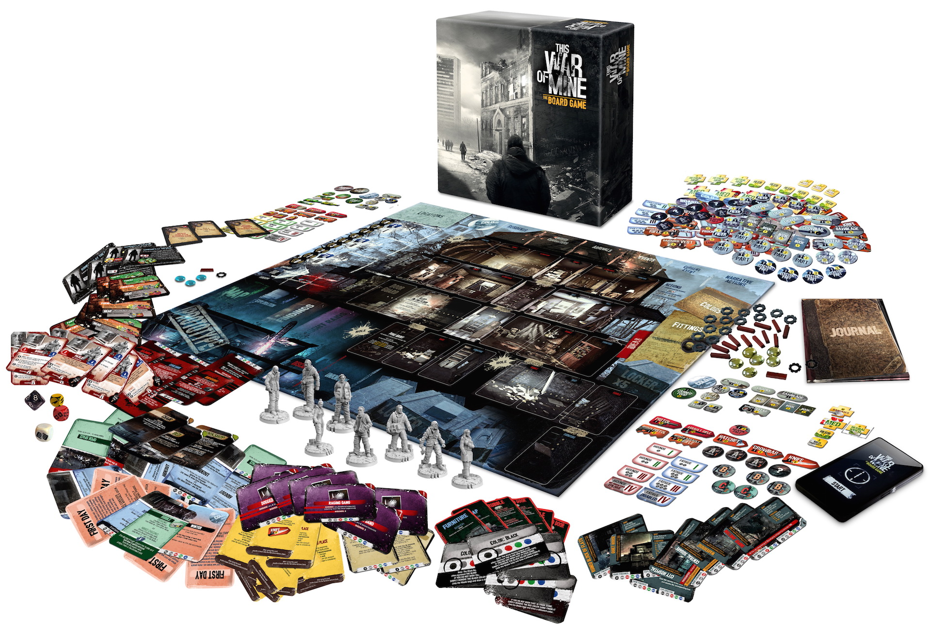 this war of mine the board game lance son kickstarter news jds extralife. Black Bedroom Furniture Sets. Home Design Ideas