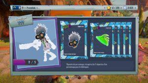 Le système de progression peut être frustrant mais heureusement les joueurs du premier opus retrouveront les personnages qu'ils ont déjà débloqués.