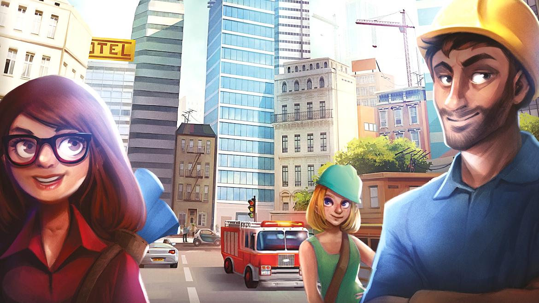 Quadropolis : Sim City dans une boîte