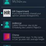 Contrairement à Lifeline, vous aurez de nombreux interlocuteurs, sans compter le spam ou les newsletters.