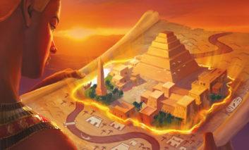 Imhotep : On joue aux cubes sur les bords du Nil