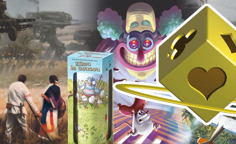 Unlock!, Kikou le coucou et Scythe, les lauréats de l'As d'or 2017