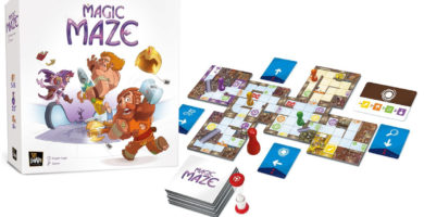 Partie filmée - Magic Maze