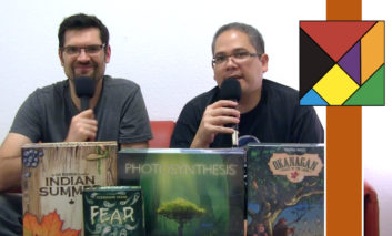 Essen Spiel 2017 : Deuxième journée avec Otys, Fairy Tile et Fear
