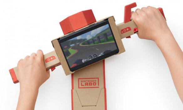 Nintendo Labo : Des accessoires en carton pour la Switch