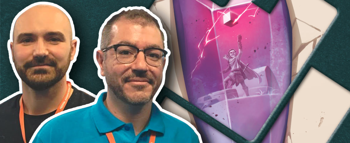 Dice Forge : Interview de l'auteur Régis Bonnessée (Libellud) et de l'illustrateur Biboun