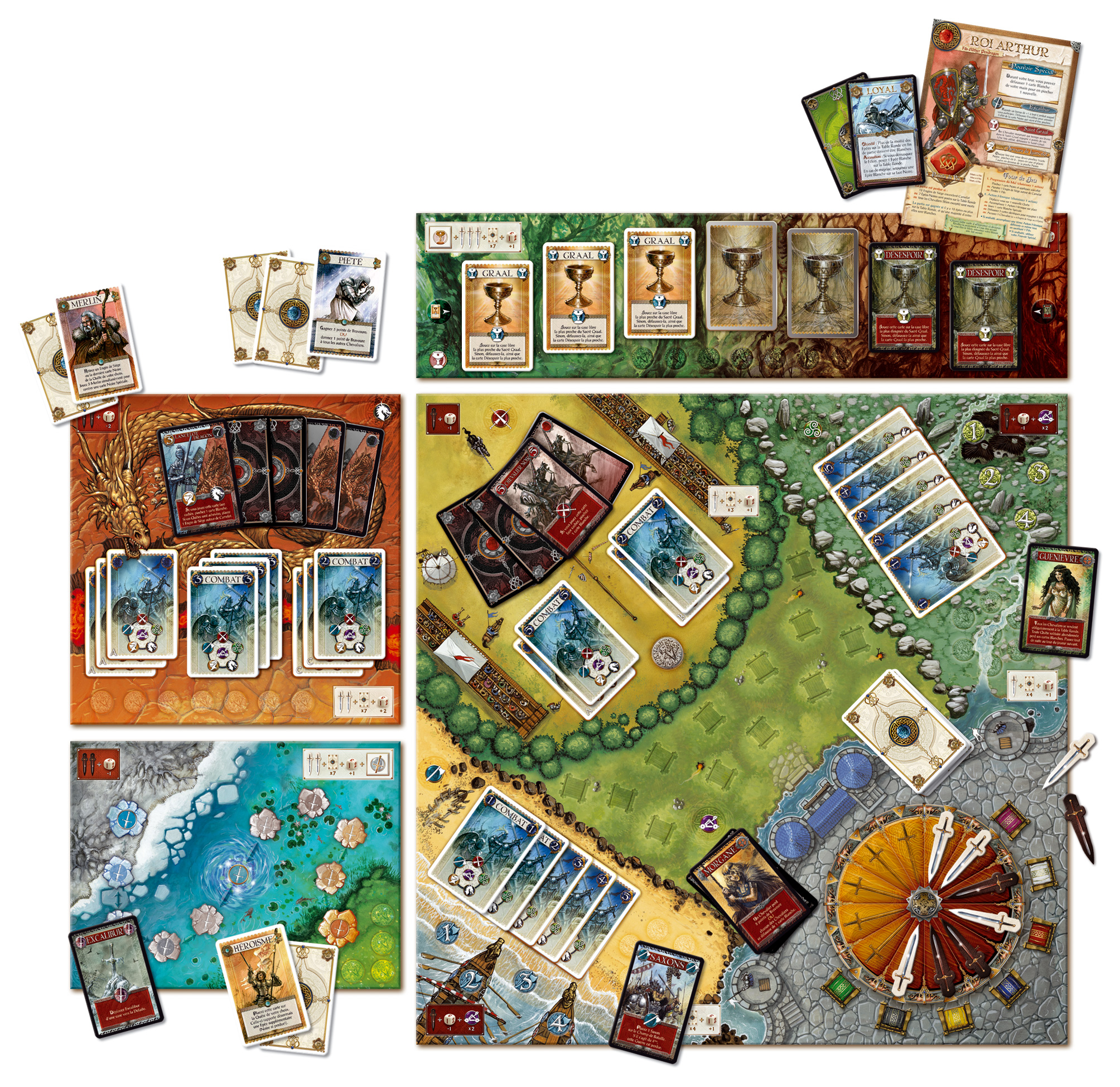 Bruno cathala tout faire pour tre compris page 5 - Recherche sur les chevaliers de la table ronde ...