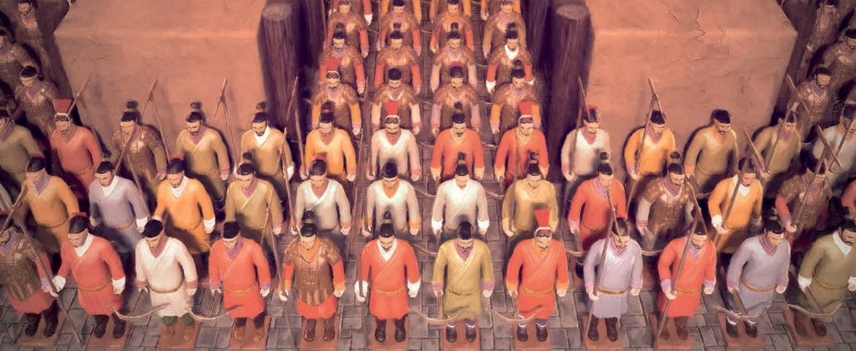 Xi'an : L'armée de Terre Cuite – Best mannequin challenge ever