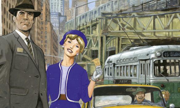 Les Aventuriers du Rail jouent le taxi à New York