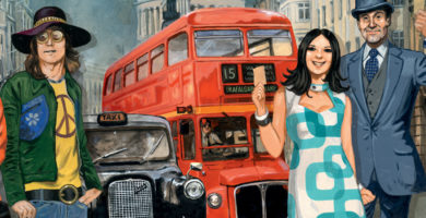 Les Aventuriers du Rail : Londres – New York bus repetita ?