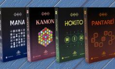 Mana, Kamon, Hokito et Pantareï : 4 jeux abstraits d'un coup !